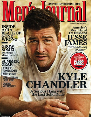 Kyle Chandler - Men's Journal Cover - 2011
