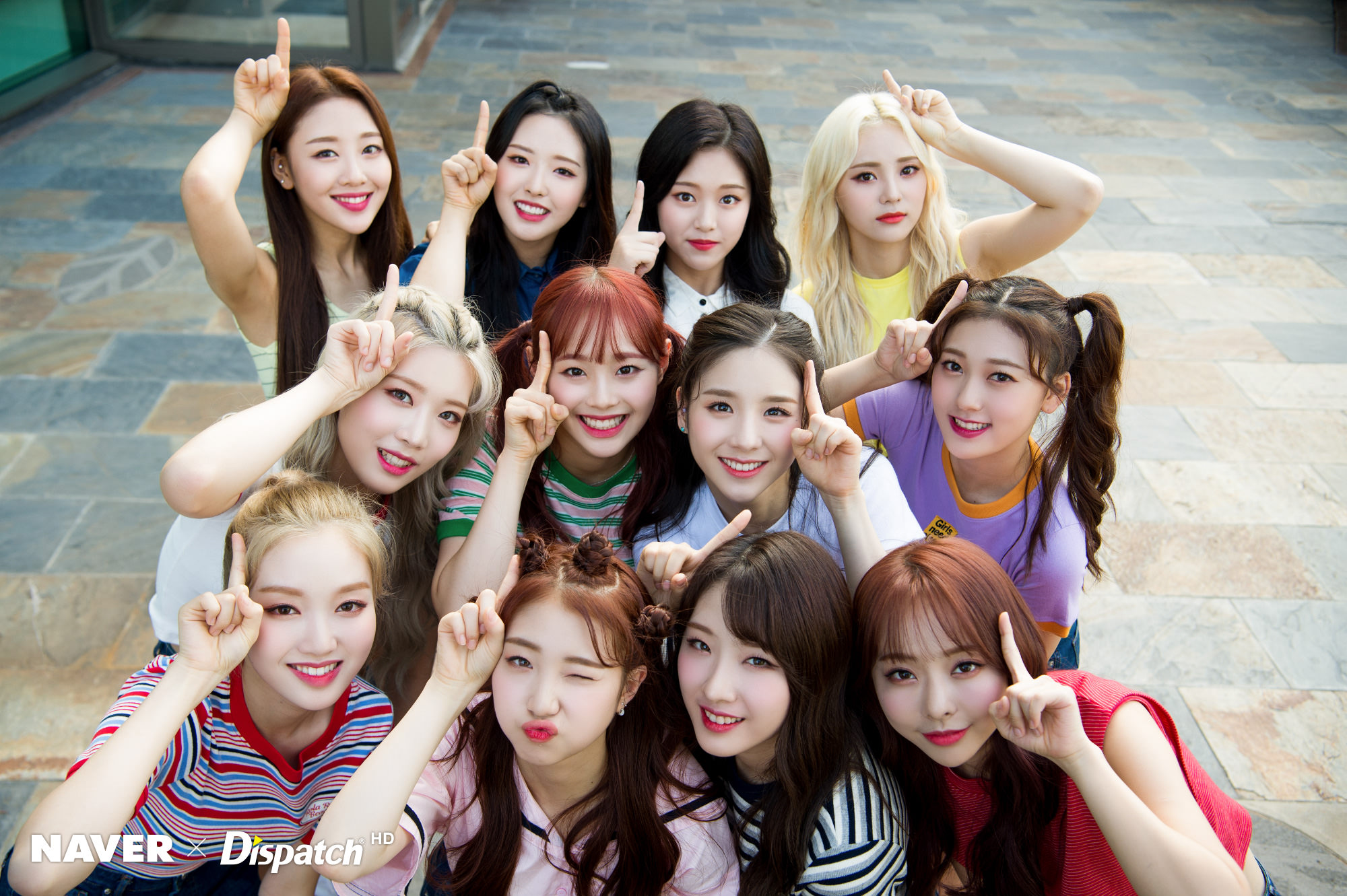 LOONA Naver x Dispatch 2018