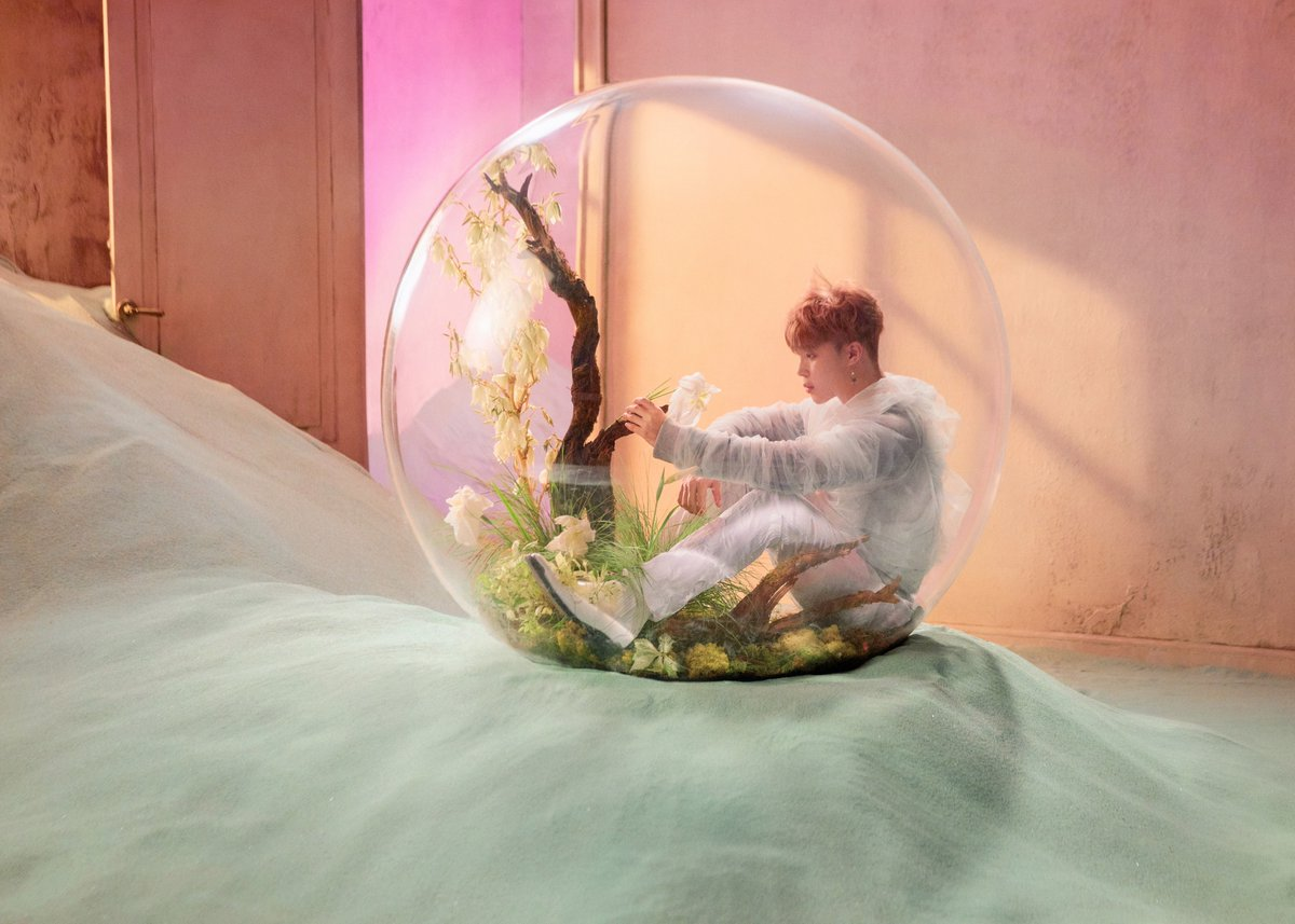 LOVE_YOURSELF 結 'Answer' Concept 写真 E version