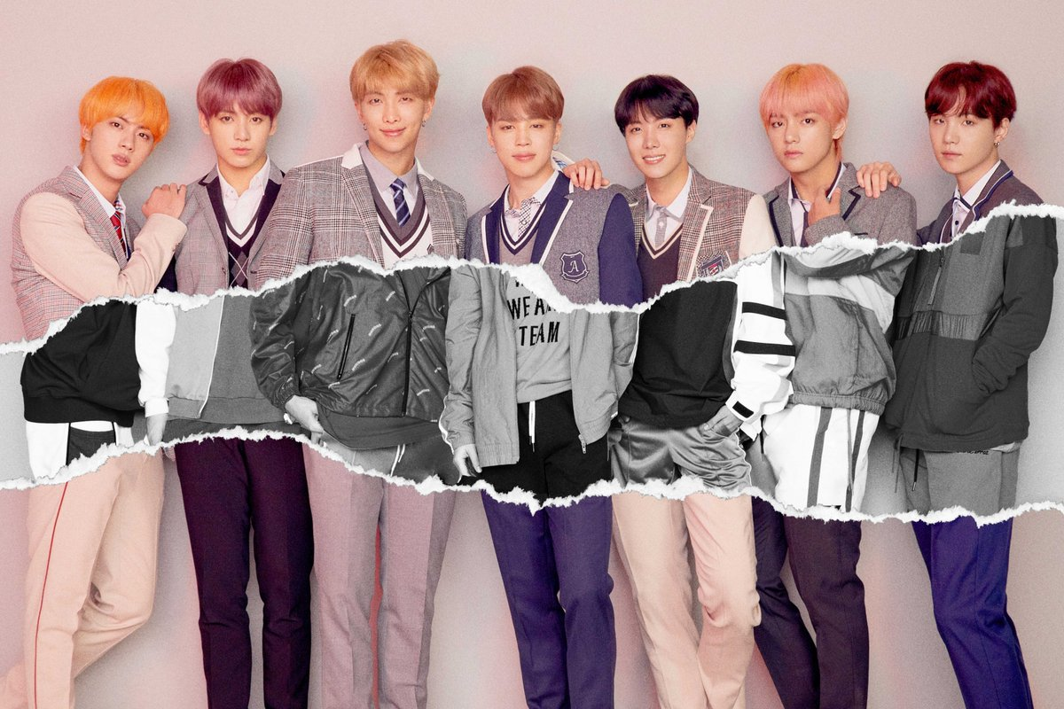 LOVE_YOURSELF 結 'Answer' Concept foto L version