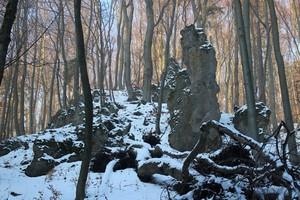 Lačnovský canyon, Lipovce, Prešov region, Slovakia