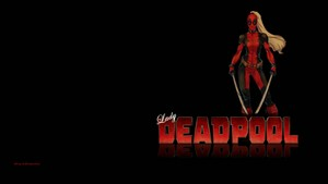 Lady Deadpool 壁纸 12