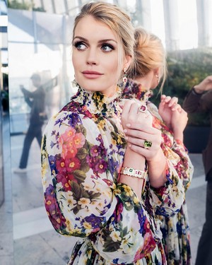 Lady Kitty Spencer Bvlgari Dolce Gabbana