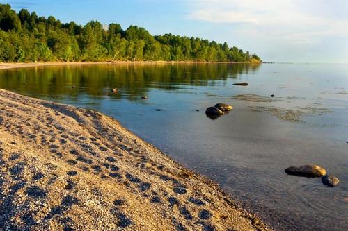 Europe Hintergrund called Lake Onega , Russia