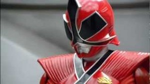 Lauren Morphed As The Red Samurai Ranger
