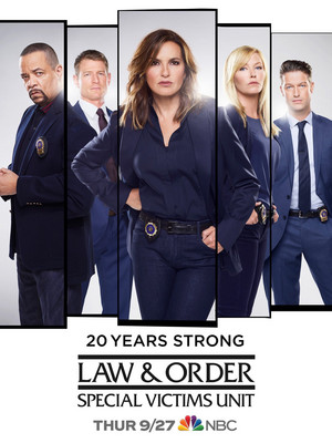 Law and Order: SVU - Season 20 Poster - 20 Years Strong