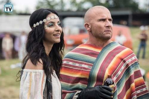 DC's Legends of Tomorrow wallpaper entitled Legends of Tomorrow - Episode 4.01 - The Virgin Gary - Promo Pics