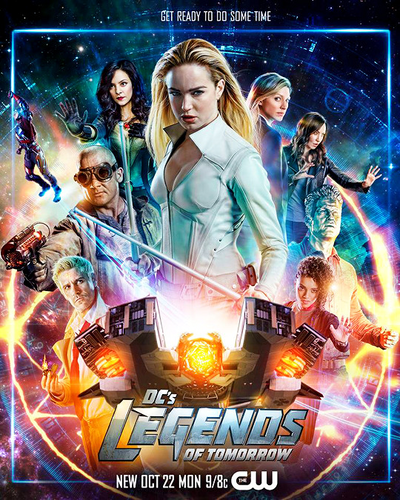 DC's Legends of Tomorrow wallpaper called Legends of Tomorrow - Season 4 - Poster