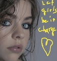 Let girls be in charge