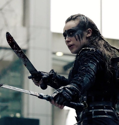 Commander Lexa (The 100) वॉलपेपर called Lexa