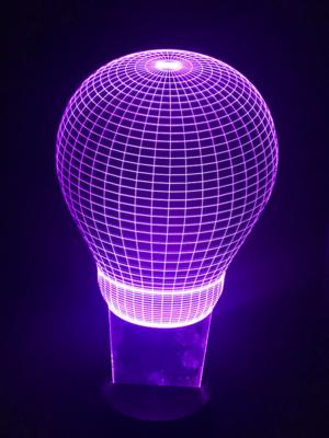 Light Bulb Purple