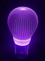 Light Bulb Purple - purple photo
