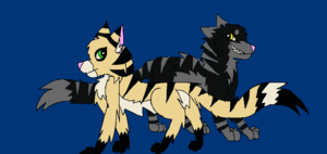 Longtail and Darkstripe
