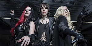 Lzzy Hale (Halestorm), Ash Costello (New Years Day) and Maria Brink (In This Moment) picture