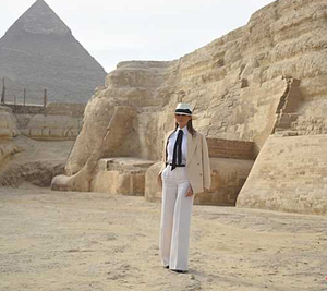 MELANIA TRUMP IN EGYPT