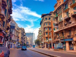 MORNING ALEXANDRIA EGYPT