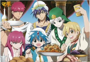Magi : The Labyrinth of Magic