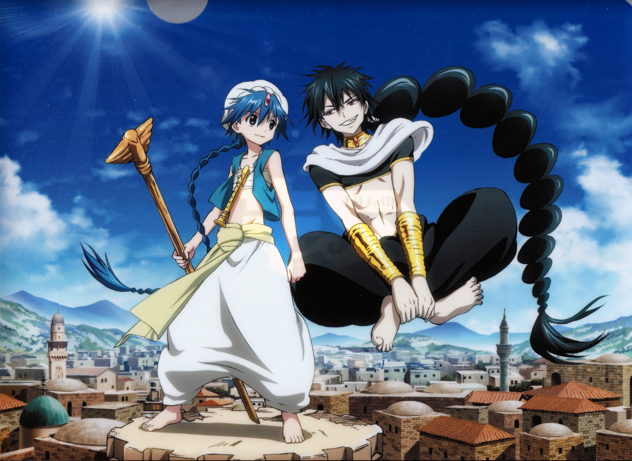 Magi The Labyrinth Of Magic Images Magi The Labyrinth Of Magic Hd Wallpaper And Background Photos