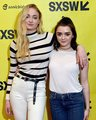 Maisie and Sophie - game-of-thrones photo