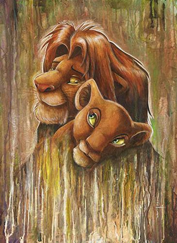 Disney wallpaper titled Nala And Simba