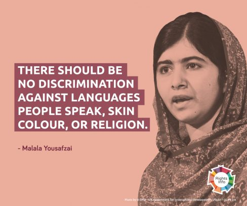 Racism Free Images Malala Yousafzai Fond Décran And Background