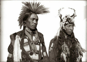 Masle Red Horn and Antoine, Flathead Indian Reservation Edward H. Boos