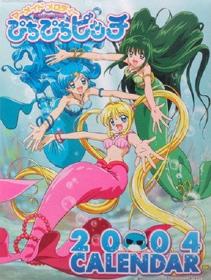Mermaid Melody Calender 2004