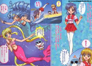 Mermaid Melody Comic
