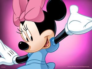 Minnie マウス ピンク
