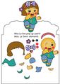 Miss La Sen Pop Up Holiday Card225