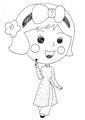 Miss La Sen aodai, chibi 32891