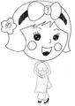Miss La Sen aodai, chibi 328915