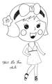 Miss La Sen chibi 58042