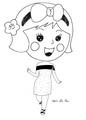 Miss La Sen chibi 74319