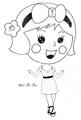 Miss La Sen chibi 97820 new