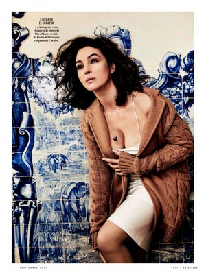 Monica Bellucci for Vanity Fair Spain [August 2017]