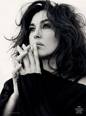 Monica Bellucci for Vanity Fair Spain [August 2017]