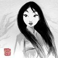 Mulan - childhood-animated-movie-heroines fan art