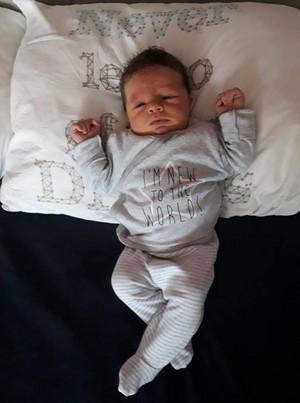 My youngest and newborn newphew Manu