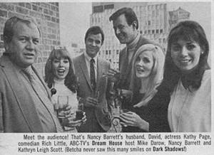 Nancy Barrett, David Ford, and Kathryn Leigh-Scott