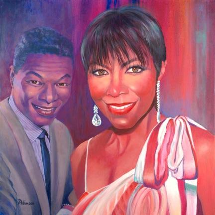 """cherl12345 (Tamara) fondo de pantalla entitled Natalie And Nat """"King"""" Cole"""
