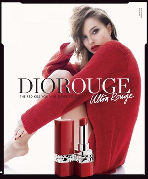 Natalie Portman for Dior Ultra Rouge Lipstick [2018 Campaign]