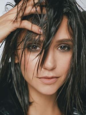 Nina Dobrev photoshoot for Byrdie Beauty