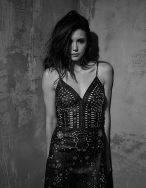 Nina Dobrev studio photoshoot 2017