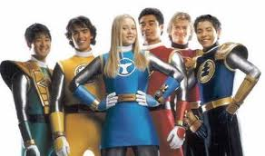 Ninja Storm Power Rangers