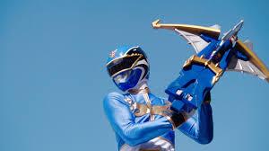 Noah Morphed As The Blue Megaforce and Super Megaforce Ranger
