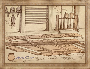 Oblivion Concept Art - Arena Training Room