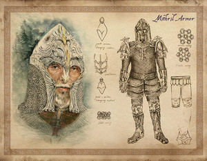 Oblivion Concept Art - Mithril Armor (male)