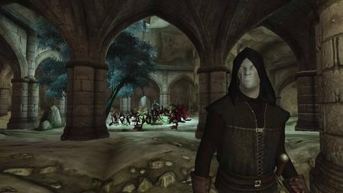 Oblivion (Elder Scrolls IV) fond d'écran entitled Oblivion Official Screenshot