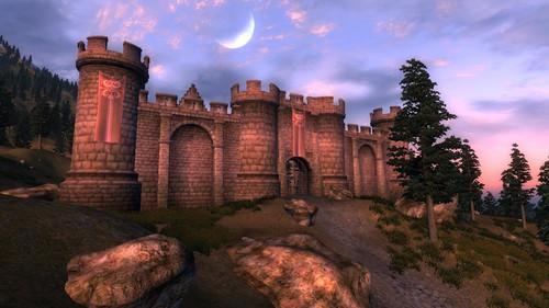 Oblivion (Elder Scrolls IV) Обои entitled Oblivion Official Screenshot